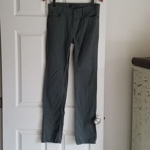 Joe's Jeans 20 Boy Green Twill Pant Excellent Used
